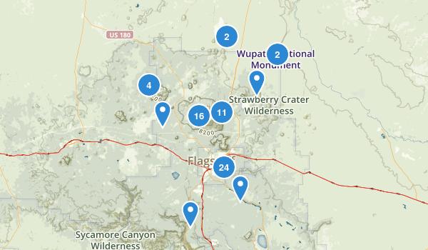 Flagstaff, Arizona Map