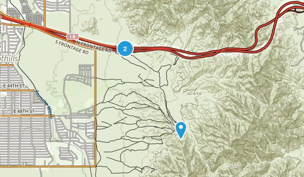 Fortuna Foothills, Arizona Map
