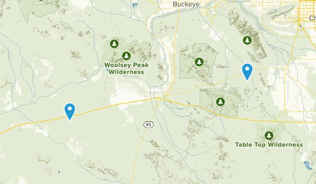 Gila Bend, Arizona Map