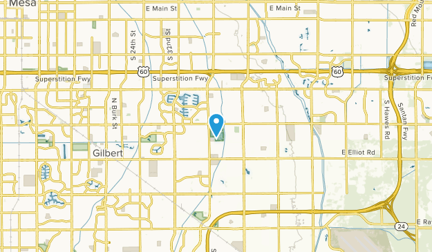 Gilbert, Arizona Map