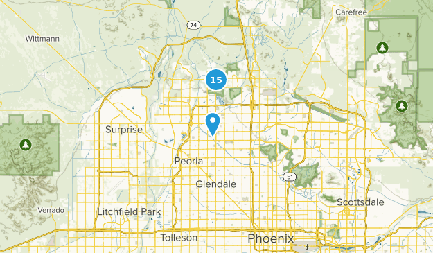 Glendale Arizona Map Best Trails near Glendale, Arizona | AllTrails
