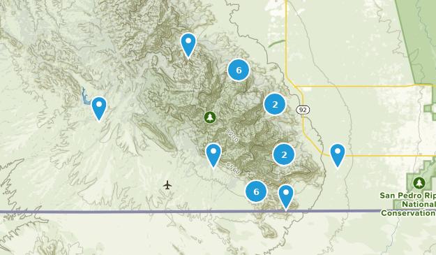 Hereford, Arizona Map