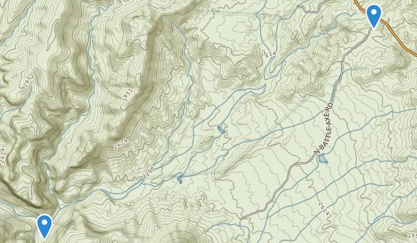 Kearny, Arizona Map