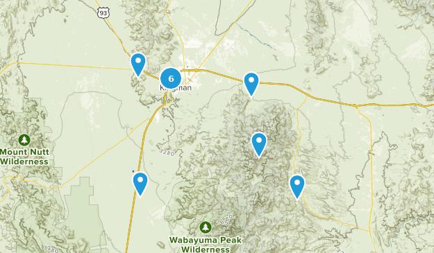 Map Of Arizona Kingman.Best Trails Near Kingman Arizona Alltrails