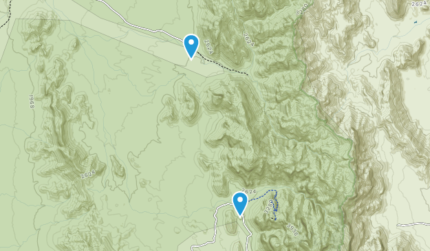 Kuakatch, Arizona Map