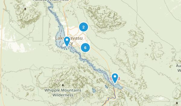 Best Trails Near Lake Havasu City Arizona Photos - Arizona city maps