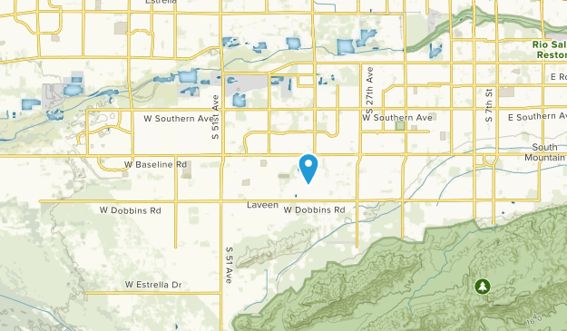 Laveen, Arizona Map