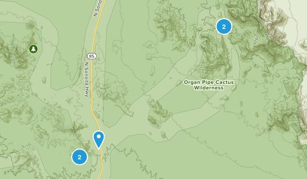 Lukeville, Arizona Map