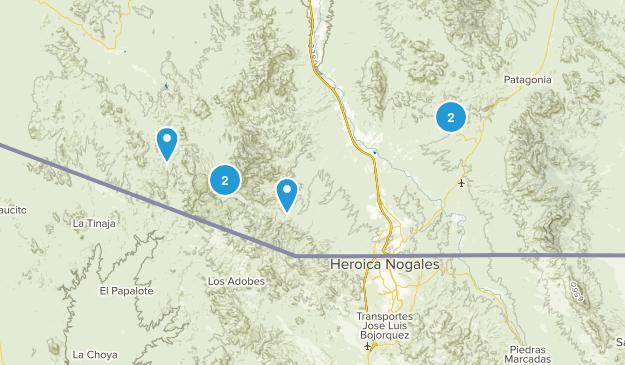 Nogales, Arizona Map