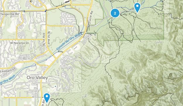 Oro Valley, Arizona Map