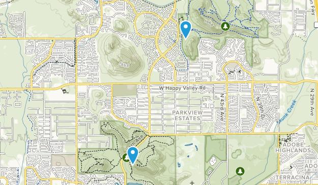 Parkview Estates, Arizona Map