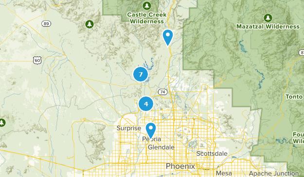 Peoria, Arizona Map