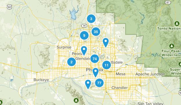 Phoenix, Arizona Map