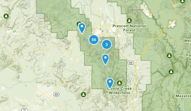 Prescott, Arizona Map