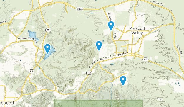Prescott Valley, Arizona Map