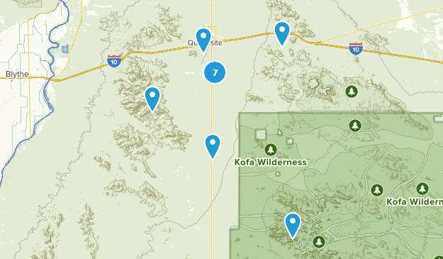 Quartzsite Arizona Map Best Trails near Quartzsite, Arizona | AllTrails
