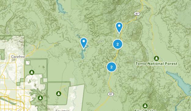 Rio Verde, Arizona Map
