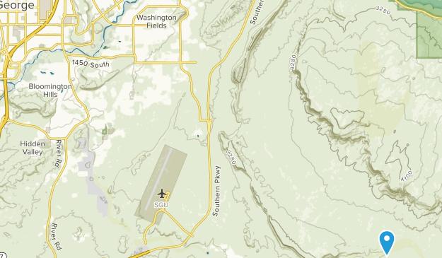 Saint George, Arizona Map