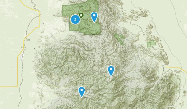 San Simon, Arizona Map