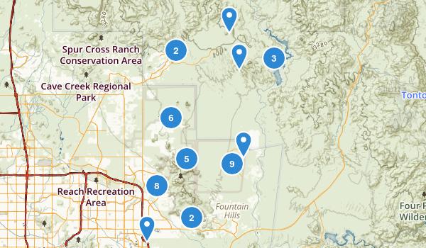 Scottsdale, Arizona Map