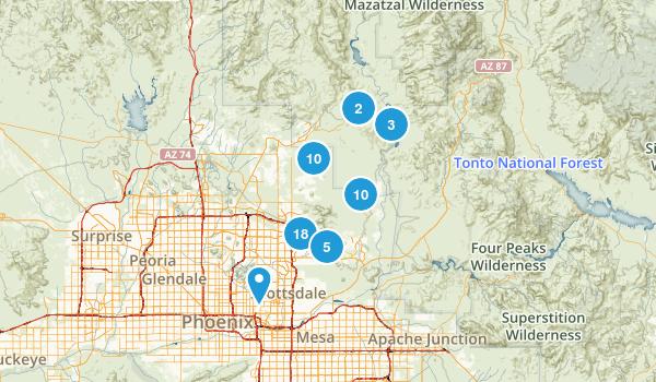 Best Trails Near Scottsdale Arizona Photos Reviews - Arizona in us map