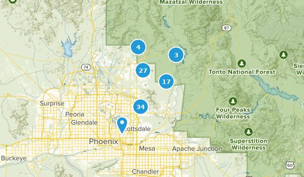 Best Trails Near Scottsdale Arizona Alltrails