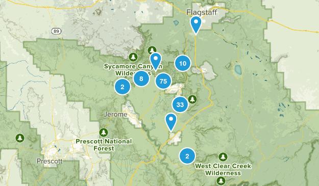 Sedona, Arizona Map
