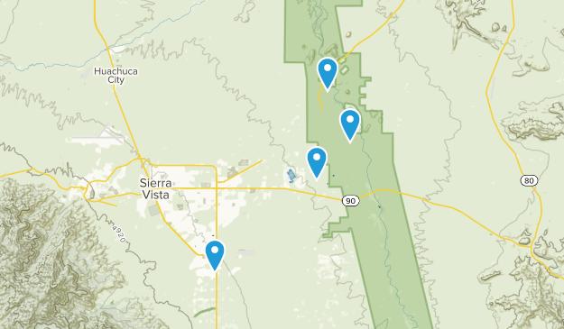 Sierra Vista, Arizona Map