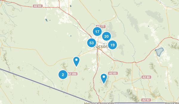 Tucson, Arizona Map