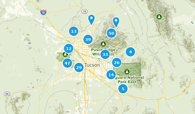 Best Trails near Tucson, Arizona | AllTrails on map of all counties in northern california, apache county arizona, downtown chandler arizona, map of city limits tucson az,