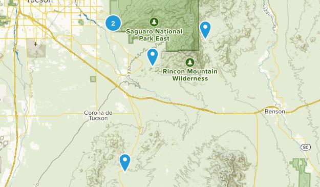 Vail, Arizona Map