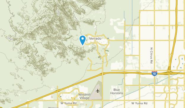 Verrado, Arizona Map