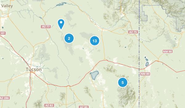 Willcox, Arizona Map
