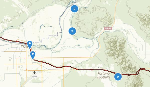 Yuma, Arizona Map