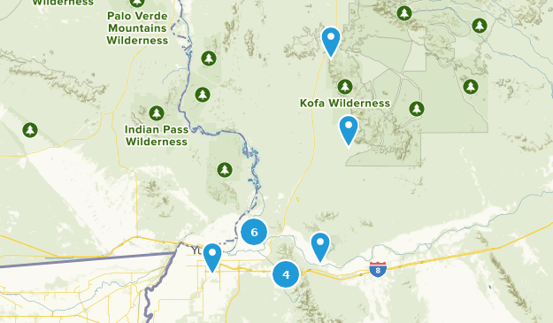 Best Trails near Yuma, Arizona | AllTrails