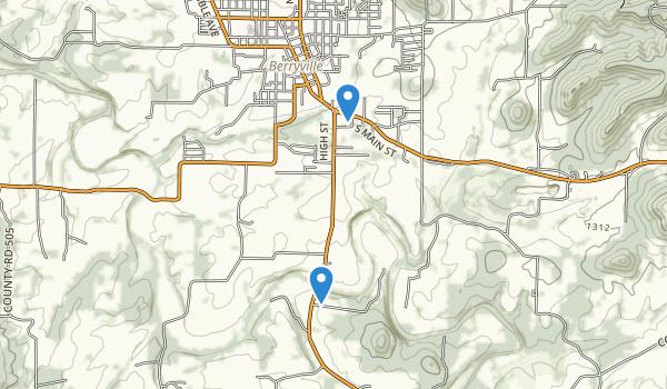 Berryville, Arkansas Map