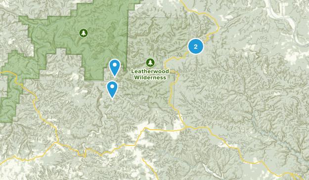 Big Flat, Arkansas Map