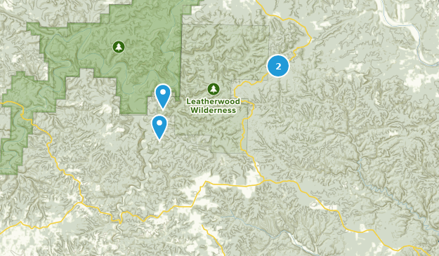 Best Trails Near Big Flat Arkansas Alltrails - Us-flat-map