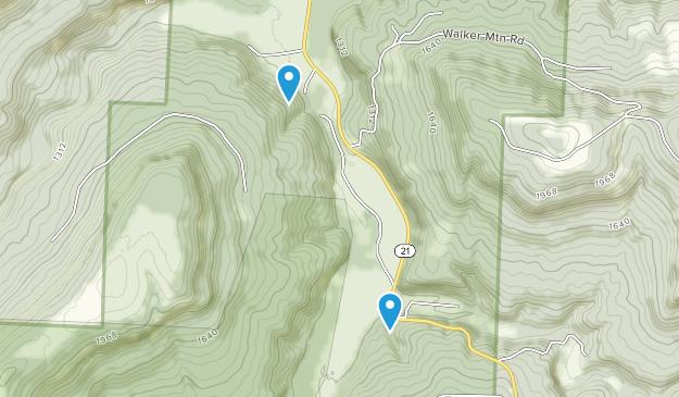 Boxley, Arkansas Map