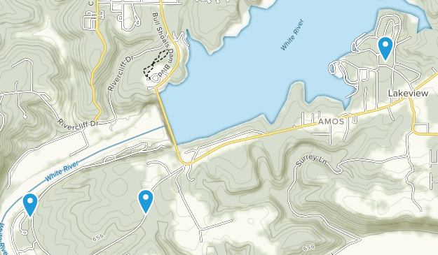 Lakeview, Arkansas Map