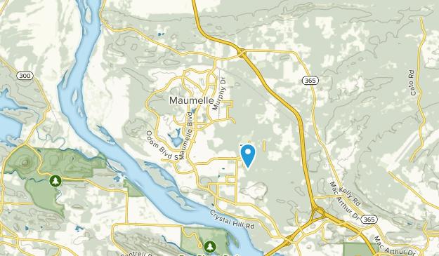 Maumelle, Arkansas Map