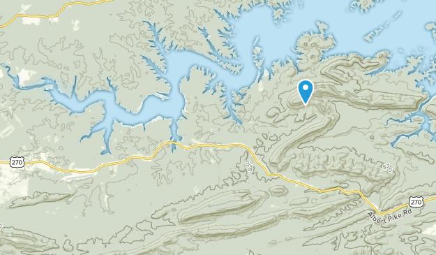 Mount Ida, Arkansas Map