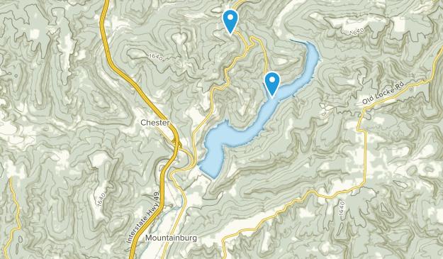 Mountainburg, Arkansas Map