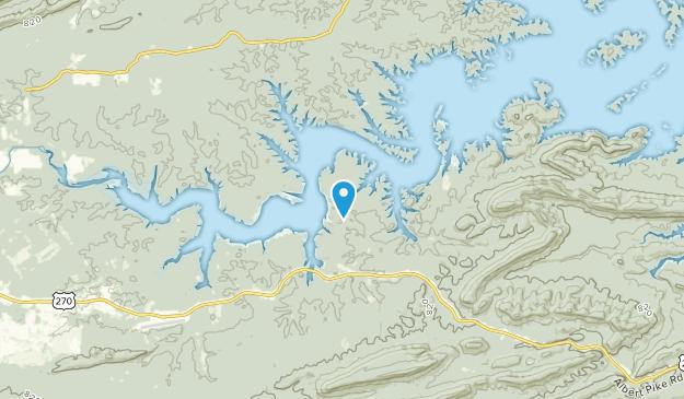 Mt Ida, Arkansas Map