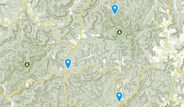 Pelsor, Arkansas Map