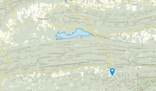 Plainview, Arkansas Map
