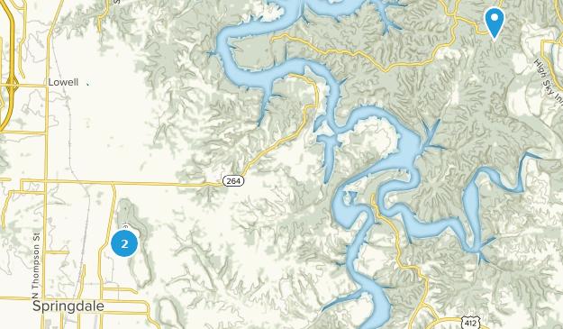 Beste Wege in der Nähe von Springdale, Arkansas | AllTrails