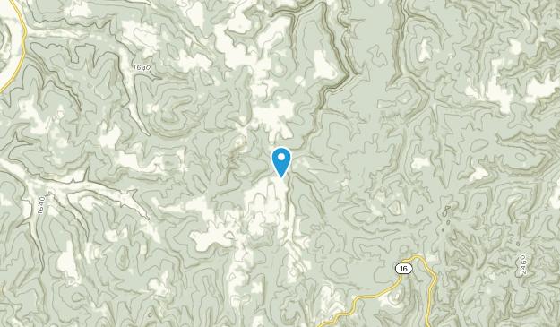 Witter, Arkansas Map