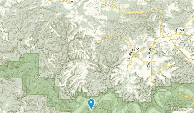Woolum, Arkansas Map