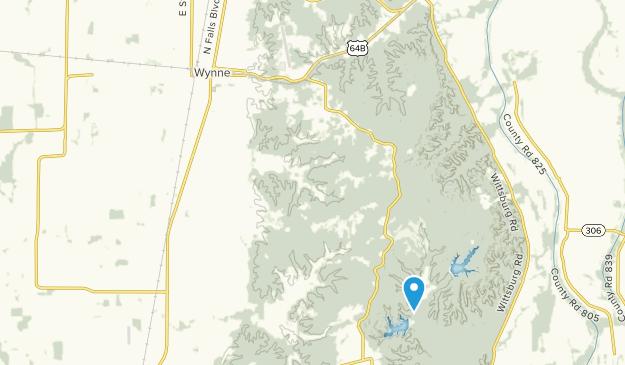 Wynne, Arkansas Map